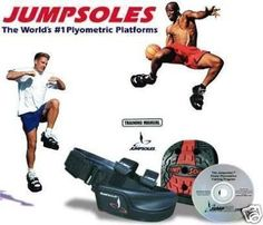 JUMPSOLES V5.0 LARGE Basic Vertical Jump & Speed Training System Jump Soles