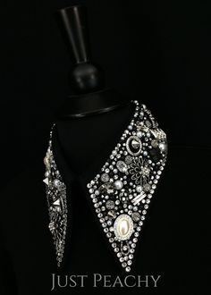 Simple Treasures Horsemanship Shirt in Jet Black with Crystal and Pearls by Deb Moyer ~ Ladies XS