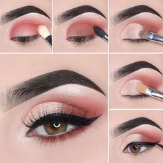 Easy Steps Pink Eye Makeup Tutorial Ideas For Beginners To Look Amazing! - Easy Steps Pink Eye Makeup Tutorial Ideas For Beginners To Look Amazing! Easy Steps Pink Eye Makeup Tutorial Ideas For Beginners To Look Amazing! Makeup Eye Looks, Pink Eye Makeup, Dramatic Eye Makeup, Eye Makeup Steps, Simple Eye Makeup, Natural Eye Makeup, Smokey Eye Makeup, Eyeshadow Makeup, Natural Eyeshadow