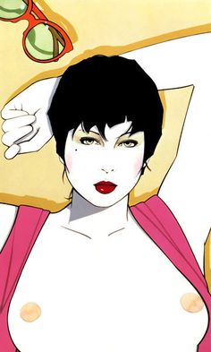 Creative Illustration, Patrick, Nagel, and Art image ideas & inspiration on Designspiration Patrick Nagel, Simon Bisley, Creative Illustration, Character Illustration, Illustration Art, Nagel Art, Arte Pop, Illustrations And Posters, Print Artist