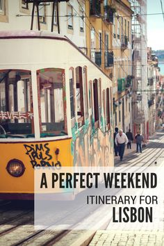Suzanne has already shared so many amazing blog posts about Lisbon and today she's got a perfect weekend itinerary for Lisbon. If you're a first-time visitor to Lisbon and you're in the city for just 2 or 3 days then this is the itinerary for you!