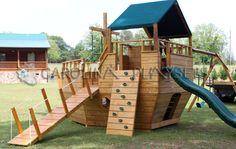 Castle Swing Set Plans   ... Width: 26′ Floor Heights: 45″ and 60″ Swing Beam Height: 8