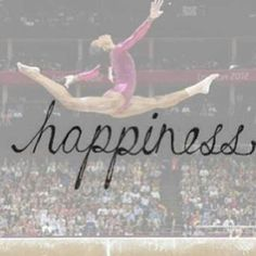 gymnastics is my happiness and always will be.♥