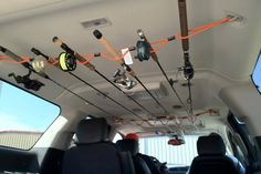 A cool idea for a rod holder for your SUV Deep Sea Fishing, Gone Fishing, Kayak Fishing, Fishing Tips, Fishing Tackle, Walleye Fishing, Fishing Boats, Fishing Basics, Fishing Stuff