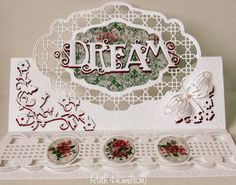 A Passion For Cards: New Tonic dies - Deco Oval Trellis