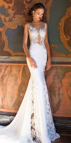 24 Milla Nova Wedding Dresses Collection 2017 ❤️ See more: http://www.weddingforward.com/milla-nova-wedding-dresses-2017/ #wedding #dresses #2017 #millanova