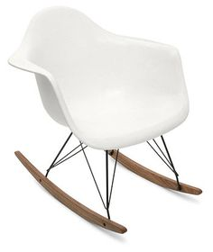 Eames rocker, made of fiberglass - $399