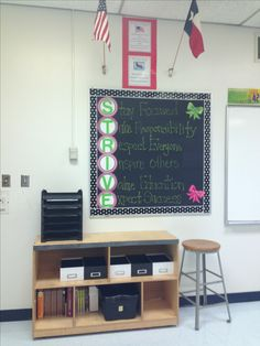 My middle school classroom.