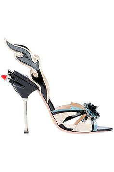 Prada Flame Sandals... wow!  Awesome for Star page
