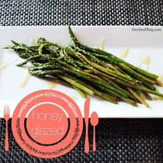 Honey-Glazed Asparagus