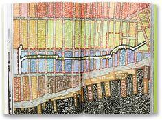 High Line map by Paula Scher