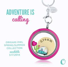 I love the new twist on lockets.  Change the color of your jewelry!  Click on my website and order today!  It will ship straight to you!!  www.malinaleman.OrigamiOwl.com