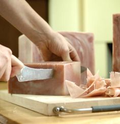 soap making -