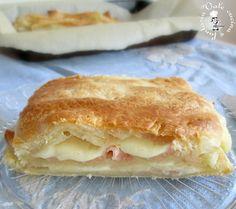 Millefoglie con prosciutto cotto e formaggio