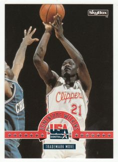 Dominique Wilkins # 35 - 1994 SkyBox USA Basketball