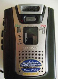 Sony Cassette Recorder Model TCM-465V