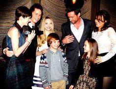 Les Misérables cast - Anne, Eddie, Amanda, Daniel, Hugh, Isabelle, and Samantha! Perfection.