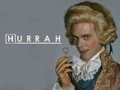 Blackadder and House: The best of both worlds. Powered by Hugh Laurie.