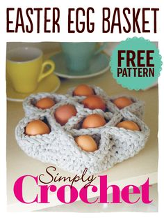 Perfect Easter gift, this pattern's incredibly easy to follow