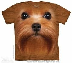 Big Face Yorkie T-Shirt at theBIGzoo.com