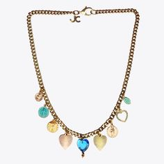 Charm Necklace #prom