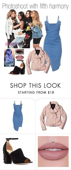 """Photoshoot with fifth harmony"" by littleharmonythedirection ❤ liked on Polyvore featuring Mackage"