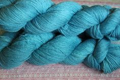 Green Topaz hand dyed sock weight yarn 410 yards by Arctickrafts