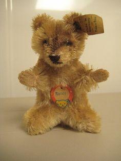 Steiff Vintage Raccy Raccoon – EAN 4310,00 – 1959 to 1964 – Woodland Whimsy