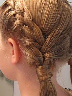 Cute kids hair idea