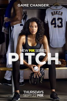 Pitch.  Oh how I wish this premise came true in real life.  My inner feminist longs for the day.
