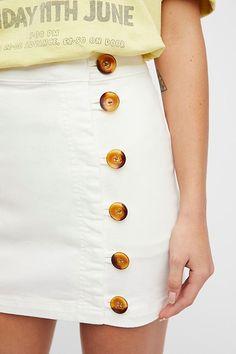 Slide View 3: Little Daisies Mini Skirt