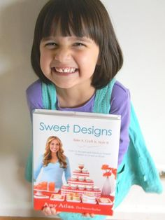 A little baker in Australia has joined the #SweetDesigns Virtual Book Club. Love this picture!