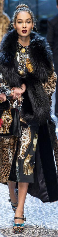 Dolce & Gabbana FW2017 Women's Fashion RTW | Purely Inspiration