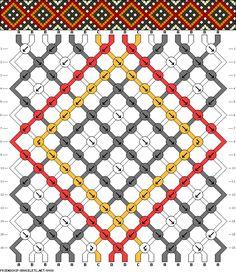 16 strings 16 rows 4 colors