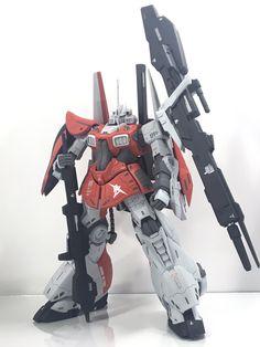 """らば on Twitter: """"#うみんちゅ杯プチ6 最近完成したリックディジェ アムロ専用機で参戦します😆 マット仕上げですがピンポイントでキラっとさせてる金属感がアクセントになっているのではないでしょうか😅… """" Robot Art, Robots, Gunpla Custom, Gundam Model, Mobile Suit, Kamen Rider, Plastic Models, Transformers, Model Kits"""