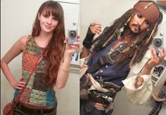 This. Is. Awesome.   babyprude: jotenheimr: blackrabbit94: The power of Cosplay wow  I AM CONVINCED THAT SHE JUST GOT JOHNNY DEPP TO STAND IN HER BATHROOM AND TAKE THIS SELFIE BECAUSE I DO NOT UNDERSTAND OKAY I DO NOT UNDERSTAND