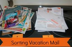 Who's in control of your kitchen counter you, or your mail? Follow these 5 steps for sorting mail & get your mail under control once and for all! | Organize 365