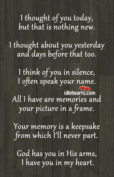 My Papa I will always have you in my Heart. RIP: My Papa, My Heyman, My Aunt Jeanelle, Uncle Billy, Granny Stephens and more.