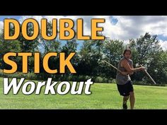 KALI Double Stick Workout with Paul Ingram - Filipino Martial Arts