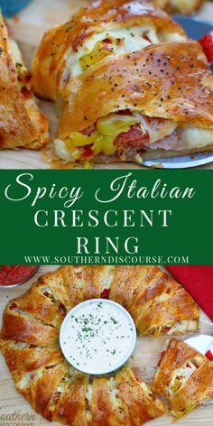 Rolled Sandwiches, Wrap Sandwiches, Italian Sandwiches, Appetizer Sandwiches, Appetizer Recipes, Dinner Recipes, Italian Food Appetizers, Spicy Appetizers, Potluck Recipes