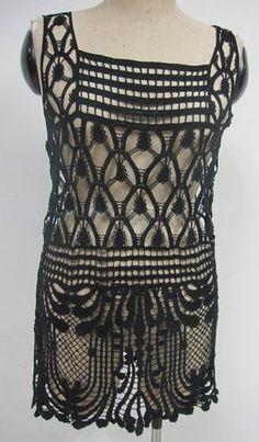 Lady-s-Crochet-Summer-tunic