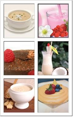 Just a sample of the delicious foods from Ideal Protein