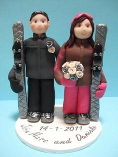 #Skiing #couple