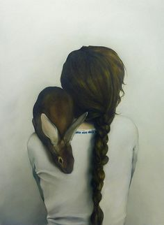 {Amy Judd} the rabbits like her baby; transforms back into a child at end of movie for happy ending.