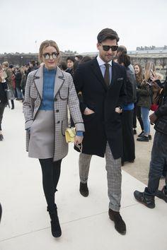Arriving at an event in Paris.   - ELLE.com