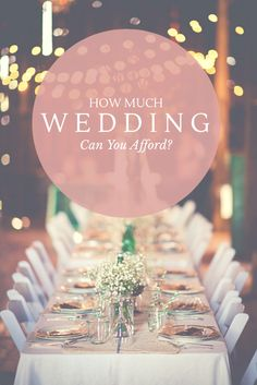 Your wedding is one of the most important and exciting days of your life. Don't let the budget stress you out! Learn how to set your budget and stick to it.