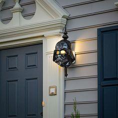 darth vader porch light
