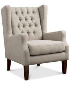 Stedman Fabric Accent Chair, Direct Ship | macys.com