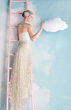 vestido de novia estilo romntico