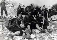 Passage du Col de Chavière - Automne 1943. Partisans Maquis Alpins.